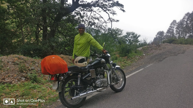 on the way to himalayas- bike trip