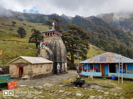 Madmaheshwar temple uttarakhand india