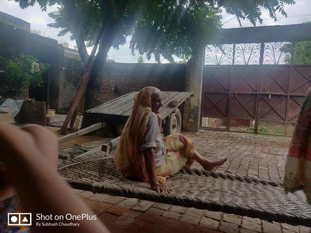 grandmother in village