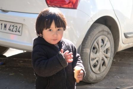a nepali child