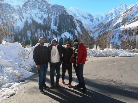 solang valley picture during manali tour